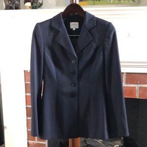 Armani Collezioni Timeless Navy Herringbone Suit
